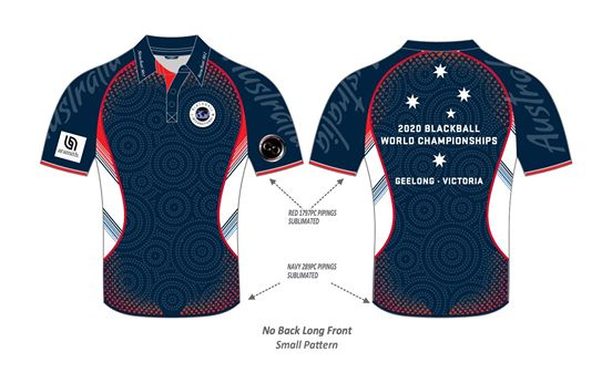 world blackball championships 2020  polo shirts