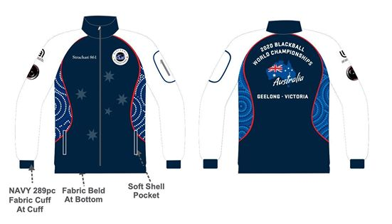 world blackball championships 2020  track jackets