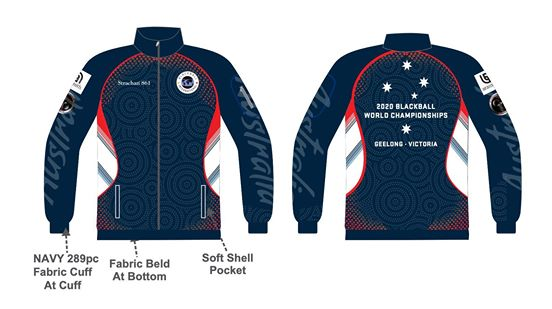 world blackball championships 2020  track jacket