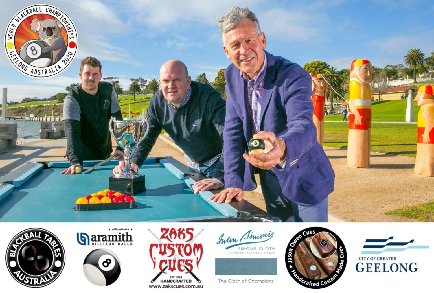 world blackball championships 2020 Geelong Australia