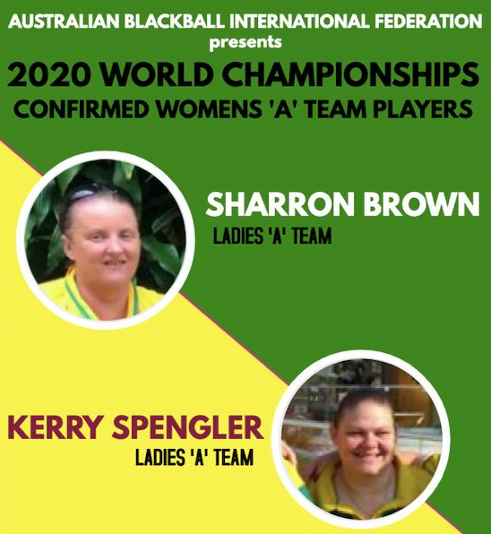 World Blackball Championships 2020  Australian Ladies qualifiers