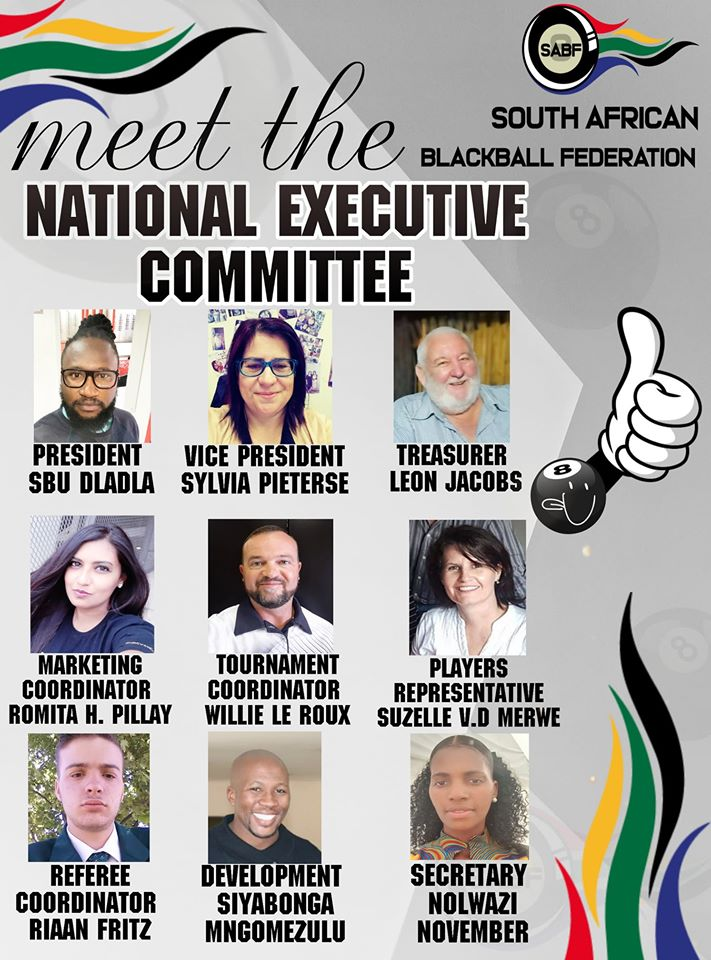 South African Blackball Federation executive committee